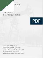 Venture Oil Brochure