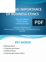 ROLE AND IMPORTANCE OF BUSINESS ETHICS.pptx