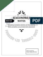 XI Eco complt notes 2020