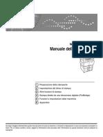 Ricoh MPC 2011 Manuale
