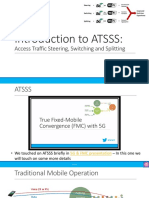 Introduction to ATSSS - Access Traffic Steering, Switching and Splitting