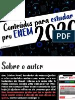 O que estudar pro ENEM 2020 (estuda.junior).pdf