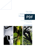 The Oak History Ecology Management and Planning Sweden