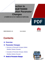 Material for BTS3900&BTS5900 eNodeBFunction Parameter Changes(V100R015C10 vs V100R012C10SPC330)