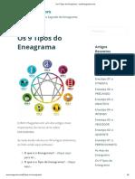 Os 9 Tipos do Eneagrama