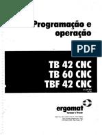 Manual de Programação e Operação - Torno TB42 CNC