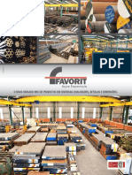 Catálogo Técnico de Aços - FAVORIT - Abril - 2019