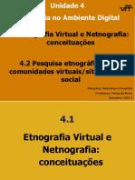 Aula_Unidade 4_Etnografia no Ambiente Digital