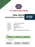 P-17004_Final report_Bearing LP turbine 3&4