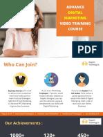Digital Marketing Course India Syllabus
