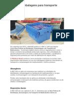 RDC 304 e as embalagens para transporte _ Plásticos Novel