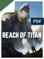 Titan Reach - Demo Gaming Booklet (12-08-18)