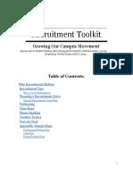 Recruitment Toolkit