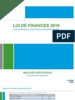Loi de finance 2019 RSM