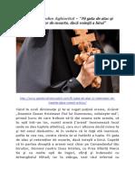 Sfântul Nicodim Aghioritul – 'Fii gata de atac şi netemător de moarte, dacă voieşti a birui'.docx