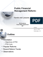 sky Public Financial Management Trends and Lessons