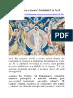 O interpretare a Icoanei Schimbării la Față.docx