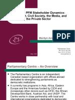 Ghana's PFM Stakeholder Dynamics