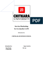 Research paper on quality GAPS