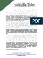 Entrega Formal Del Informe Ante La JEP
