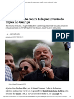 Juíza Rejeita Ação Contra Lula Por Invasão Do Triplex No Guarujá - Política