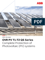 Photovoltaic Protection_BR_EN_A_OVR PV T1-T2 QS Series_ABB