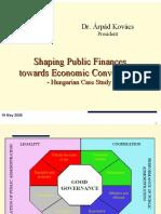 Shaping Public Finances Towards Economic Convergence