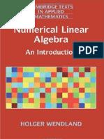 Holger Wendland - Numerical Linear Algebra_ An Introduction (2017, Cambridge University Press).pdf