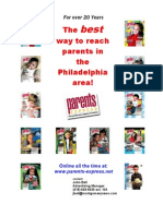 2011 Parents Express Media Kit