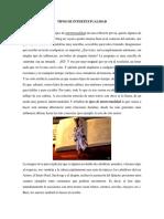 TIPOS DE INTERTEXTUALIDAD