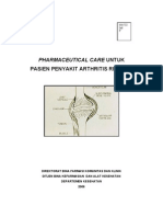 Pharmaceutical Care Penyakit Artritis