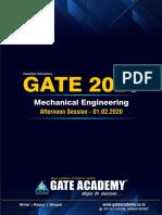 GATE ME 2020 (Set - II) Afternoon Session.pdf