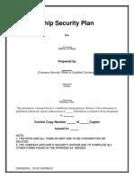 CDP-701 Rev01 - Ship Security Plan