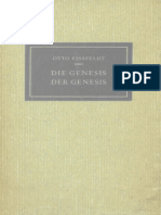 Eissfeldt, Otto - Die Genesis der Genesis, 2. Auflage (Mohr SIebeck, 1961, 117pp)