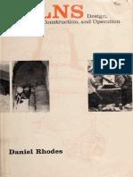 Hornos, Daniel Rhodes (Ingles)