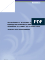 The Development of Management and Leadership