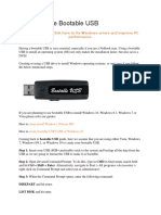 How To Make Bootable USB.docx