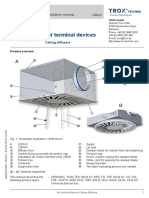 Air Terminal Devices- Instalation Manual