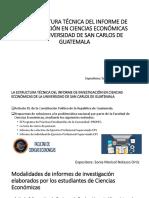 LA ESTRUCTURA TÉCNICA DEL INFORME DE INVESTIGACIÓN EN.pptx