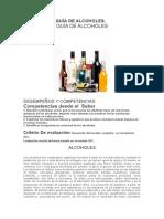 ACTIVIDAD 13 GUÍA DE ALCOHOLES