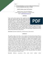 Aktivitas Penghambatan Xantin Oksidase secara In-Vitro