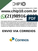 Conserto Manutenção Reparo Módulo injeção eletrônica veicular         Aracaju-min