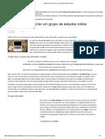 5 dicas de como criar um grupo de estudos online