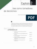 Capítulo No. 2 LOS GERENTES COMO TOMADORES DE DECISIONES