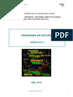 Programa Didactica I