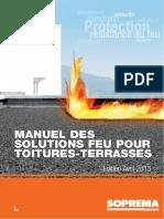 DC-15.022_FR Manuel solutions feu pour toitures-terrasses_Groupe SOPREMA TBD