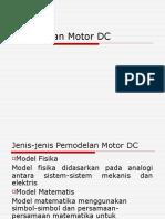 Pemodelan Motor DC