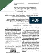 Análisis comparativo del desempeño de los formatos de modulación RZ-DQPSK y RZ-PDPSK