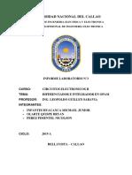 Informe Amplificador diferenciador e integrador .docx