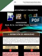 INGENIERIA ECONOMICA Y FINANCIERA SEMANA 4 anualidades.ppt